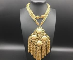 etsy, fringe necklace, and long necklace image
