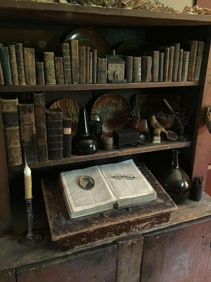 aesthetic, books, and bookshelf image