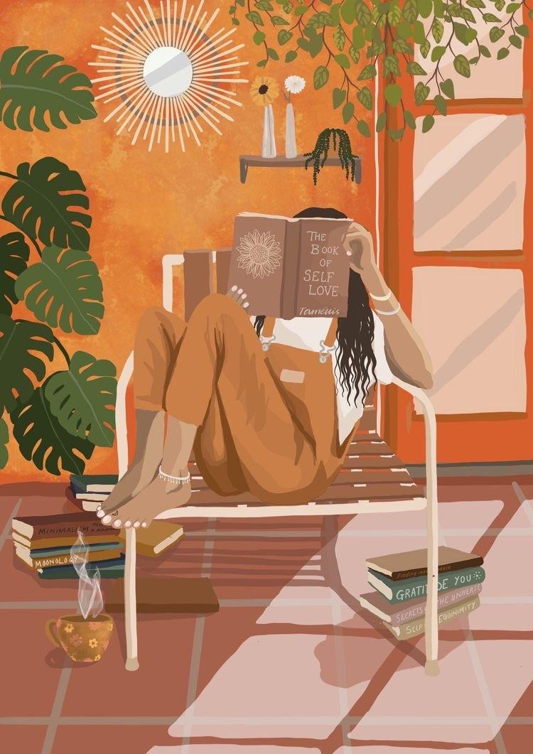art, book, and digital drawing image