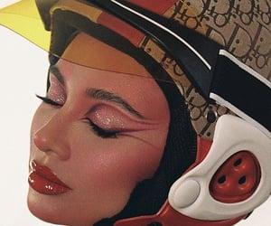dior, fashion, and makeup image