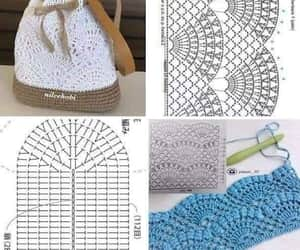 crochet, diy, and creatividad image