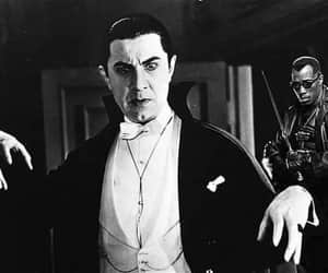 black and white, blanco y negro, and Dracula image