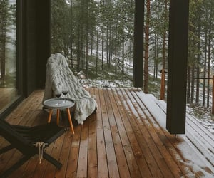 winter, nature, and cozy image