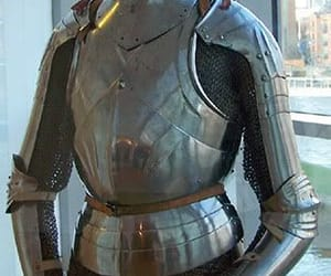 armor, salade, and sallet image