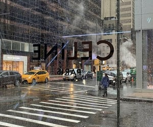 celine, new york, and street image