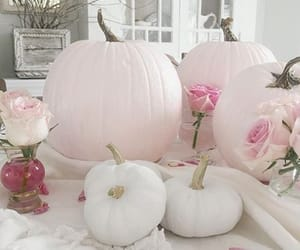 Halloween, roses, and pastel image