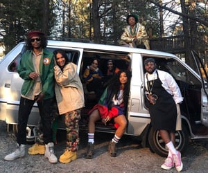 camping, fashion, and sza image
