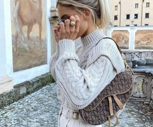 blogger, cream, and dior image