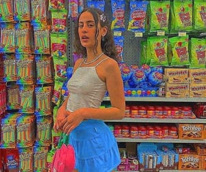 skirt, store, and sweets image