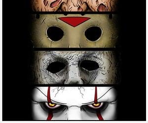 Halloween, terror, and ojos image