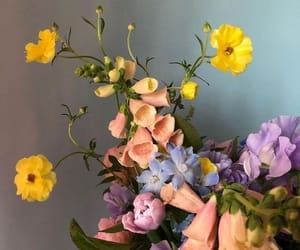 bouquet, soft, and cute image