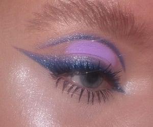 eye makeup, makyaj fikirleri, and makeup image