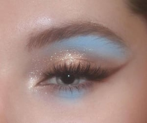 makeup, makyaj, and göz makyajı image