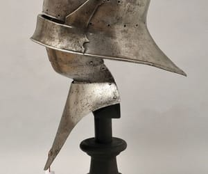 armor, medieval, and salade image