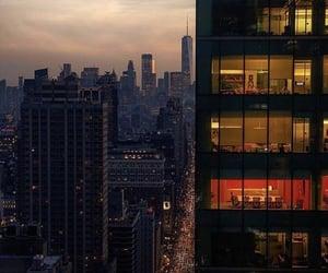 buildings, new york, and skyscraper image