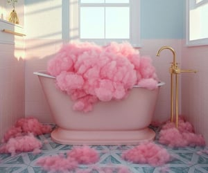 art, cool, and cotton candy image