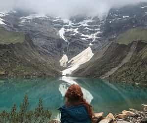 adventure, girl, and laguna image