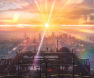 anime, weathering with you, and sunrise image