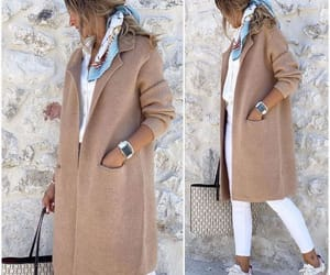 long jacket, tan jacket, and camel coat image