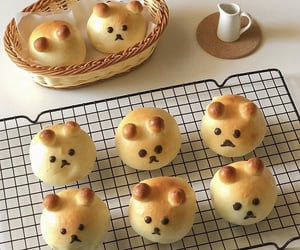 baking, dogs, and pastry image