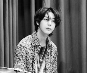 black white, kpop, and chae hyungwon image