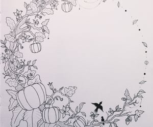 acorn, birds, and Halloween image