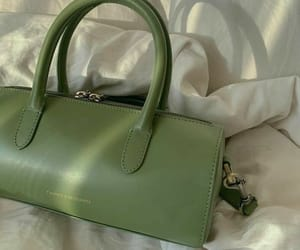 green, bag, and style image