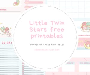 How I plan my days and stay organized (+free Kawai printables – Little Twin Stars)