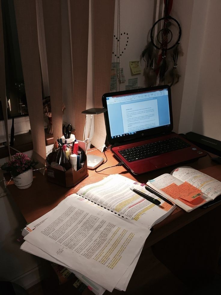 school, notes, and college image