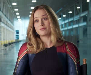 beautiful, Marvel, and brie larson image