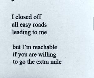 I closed off...