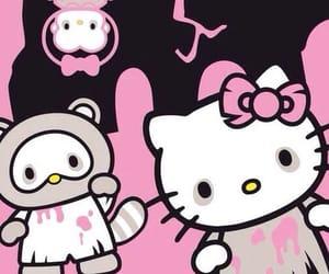 Halloween, hello kitty, and sanrio image