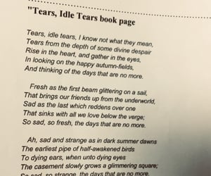 book, poetry, and tears image