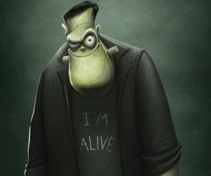 dia de los muertos, Frankenstein, and miedo image