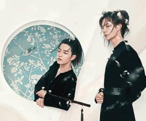 the untamed, wang yibo, and xiao zhan image