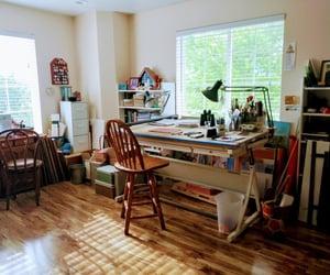 interior decoration, lifestyle, and study room image