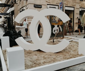 chanel, party, and sand image