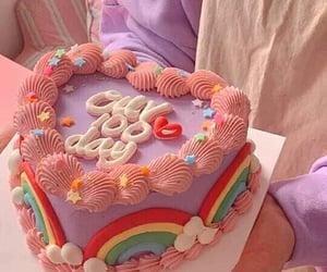 cake, pastel, and kawaii image