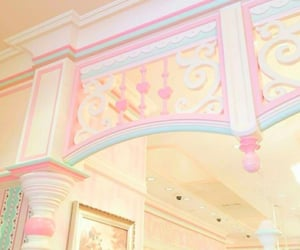 home, pastel blue, and pastel pink image