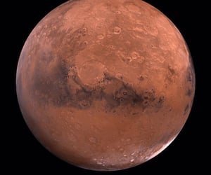 mars, planet, and marte image