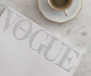coffee, vogue, and aesthetic image