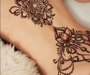 art, artistic, and henna image