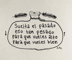 frase, soltar, and past image