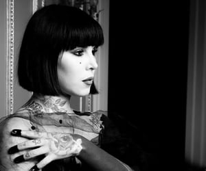 kat von d and tattooist image