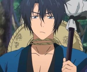 anime, dark hair, and hak image