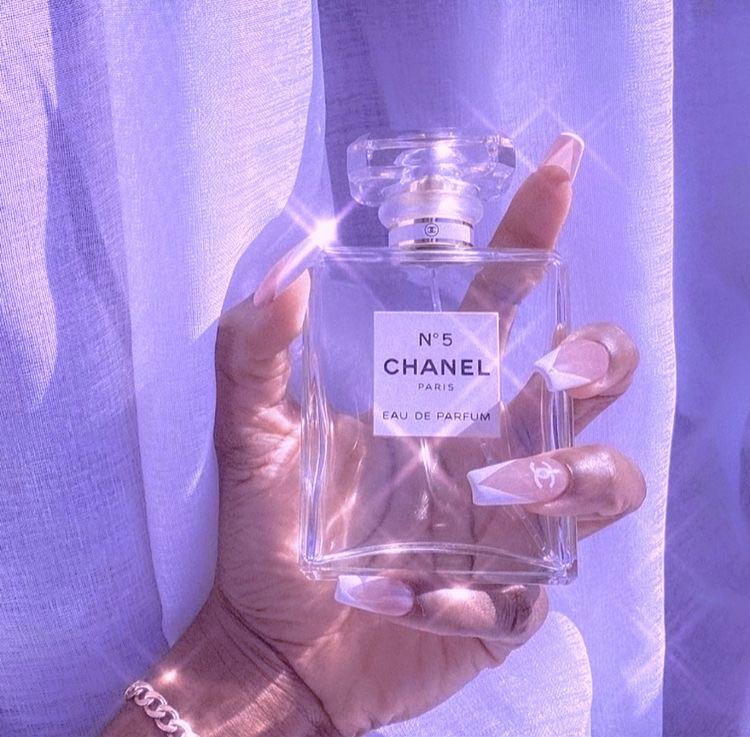 aesthetic, chanel, and purple image