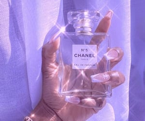 aesthetic, purple, and chanel image