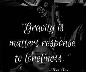 gravity, movie, and loneliness image