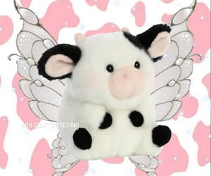 cow, icon, and soft image