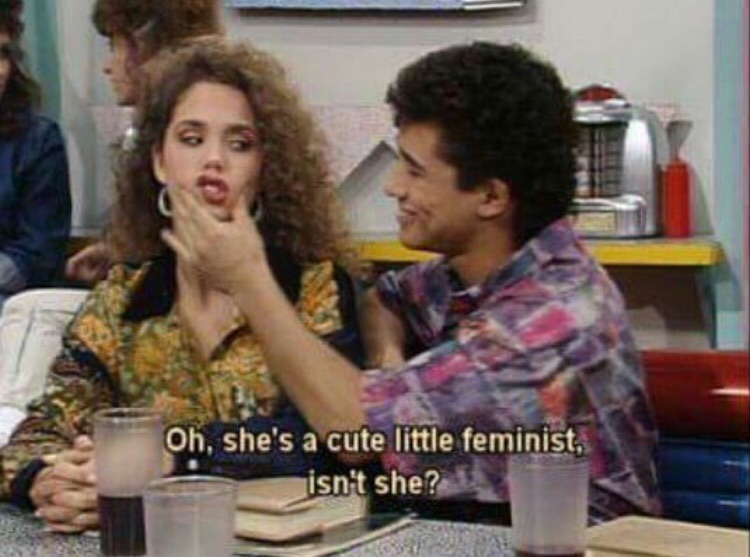 article, feminism, and feminist image